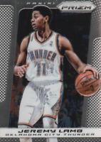 2013-14 Panini Prizm Oklahoma City Thunder Basketball Card #189 Jeremy Lamb