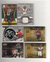 Michael Vick,Roddy White,Warrick Dunn,Alge Crumpler,Duckett,Shockley Sp GU LOT🔥