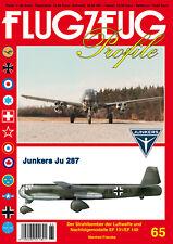 FLUGZEUG Profile 65 Junkers Ju 287 und Nachfolgemodelle EF 131 / EF 140