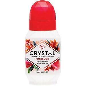 CRYSTAL ESSENCE Roll-on Deodorant Pomegranate 66ml