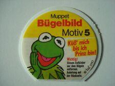 Nutella 1987. - Muppet Bügelbild Motiv 5. - Kermit.