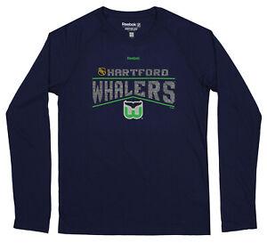 Reebok NHL Youth (8-20) Hartford Whalers Ultimate Freeze L/S T-Shirt