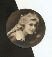MARY PICKFORD VERY RARE CARD 1928 VINTAGE REAL PHOTO GODFRET TOBACCO