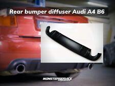 Rear bumper diffuser Audi A4 B6