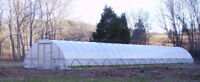 20 x 72 ft Greenhouse - Quonset Kit - Hoop House - Cold Frame - High Tunnel