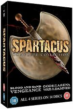 SPARTACUS Complete Collection SEALED/NEW Series 1-4 blood sand/vengeance/gods/ :