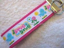 SPRING HAS SPRUNG Key Fobs (really cute keychains)