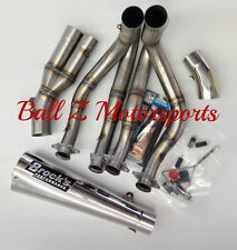 "06-11 ZX14 ZX-14 Brock's Performance 14"" Polished Alien Head Full Exhaust System"