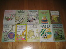 Lot of 10 Vintage 1960's I Can Read Children's Books - Harper & Row - Hardcovers