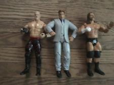 WWE Jakks Action Figure LOT of 3 Triple H Kane JBL John Bradshaw Layfeld