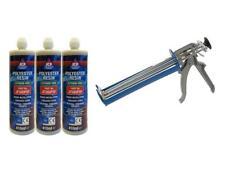 JCP Polyester Styrene Free Resin Chemical Anchor Stud Resin Applicator Gun