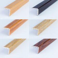 UPVC WOOD EFFECT STAIR EDGE NOSING -TRIM- EDGING NOSING 900mm x 25mm x 25mm