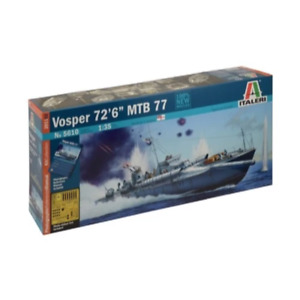 Italeri 5610 1/35th Vosper MTB Torpedo Boat Plastic Model Kit Brand New