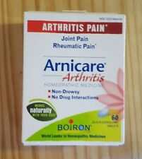 CRAZY PRICE!  ARNICARE ARTHRITIS PACK OF 60 QUICK DISSOLVING TABLETS