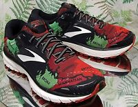 BROOKS NYC 2017 RED BLACK SNEAKERS RUNNING WALKING WORK SHOES US WOMENS SZ 8.5 B