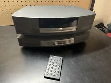 New listing Bose Wave Music System Radio/Fm 4 Cd Player Graphite w/ Remote And Cd Changer