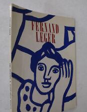 French Artist Painter Sculptor Cubism Fernand Leger 5 Themes Color Illus. 1962