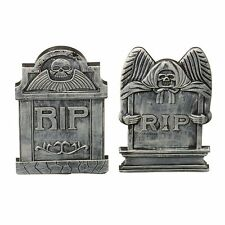Halloween Party Small Tombstones 2 Assorted Fancy Dress Decoration