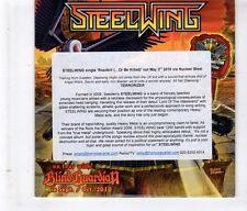 (HL26) Steelwing, Roadkill (... Or Be Killed) - 2010 DJ CD