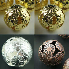 Wholesale 20Pcs Silver/Gold/Copper Spacer Loose Beads Jewelry Findings 20mm