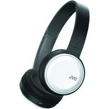 JVC Colorful Wireless Over-Ear Headphones with Built in Mic & Control in White