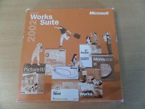 Microsoft Works Suite 2002 6 CD Set