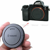 Body Cover Cap for Sony E-mount Camera a7RII a7II a7R a7S a7 a6000 a5100 a5000