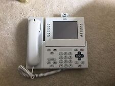 CP-9971-W-A-K9 VoIP PHONE with camera and accessories
