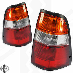 2x Rear Light Lamp for Isuzu TF Pickup/Vauxhall Brava tail PAIR Left+Right back
