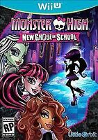 Monster High: New Ghoul in School (Nintendo Wii U, 2015) Brand New Sealed