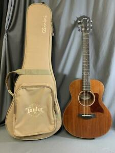 Taylor GS Mini Mahogany 6 String Acoustic Guitar With Padded Travel Case