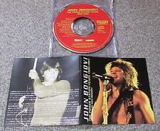 FREE ship! JON BON JOVI Japan PROMO ONLY 11 track CD bonus TRACK official