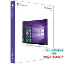 WINDOWS 10 PROFESSIONAL PRO 32|64 BIT GENUINE ACTIVATION KEY LICENSE INSTANT