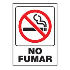 Hillman #848826, 5 x 7 No Fumar (No Smoking) Sign ?
