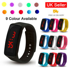 Digital LED Wrist Sport Watch For Men Women Boys Girls Kids Birthday Gift Child