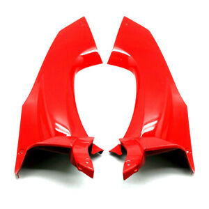 For 2012-2020 Kawasaki  Ninja ZX-14R Red Front Upper Front Dash Cover Fairing