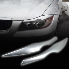 PAINTED BMW E90 EYELID HEADLIGHT EYEBROW EYELIDS 06-11