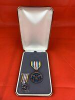 Original American Defense Superior Service Medal Cased
