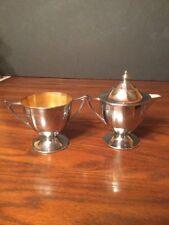Vintage Royal Rochester Metal Creamer Set