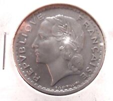 CIRCULATED 1949 5 FRANC FRENCH COIN!!!!! (011116)