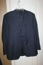 CANALI  GRAY PINSTRIPE SZ 56/46 R (US 46 R) IN GREAT CONDITION