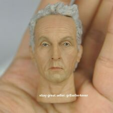 1/6 scale action figure toy Head Sculpt Tobin Bell SAW JIGSAW#US