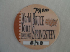 Bruce Springsteen-backstage pass August 28, 1992 - color brown