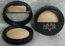 Laura Geller Baked Highlighter FRENCH VANILLA full sz natural glow 0.06 oz