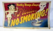 Vintage BETTY BOOP,  Please No Smoking, print