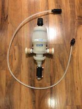 Irrigation Chemical Injector Dema MixRite 571/PVDF, used