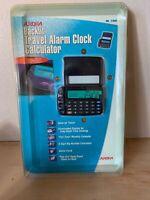 Aurora Travel Digital Alarm Clock/Calculator NOS