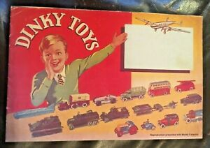 Dinky Toys 1939 Catalogue - Reproduction Presented With Model Collector