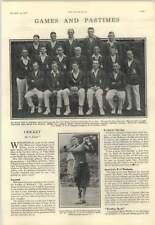 1928 Mcc Team Photo In Australia, George Duncan Wentworth Pro Golf
