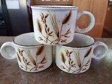 Midwinter Stonehenge Wild Oats Flat Cup (3) Mug Tall Brown